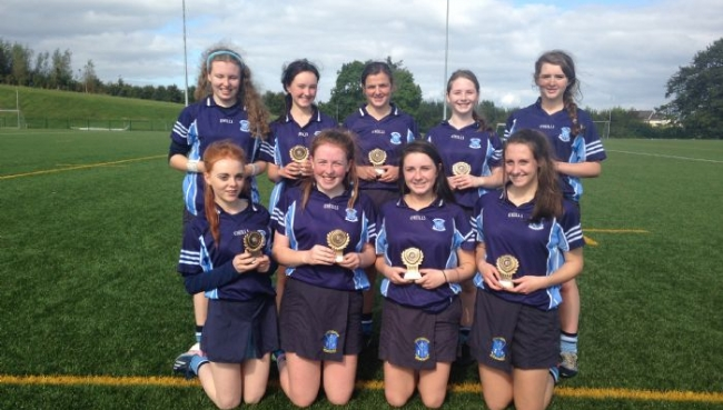 Congratulations to the Junior camogie 7s panel