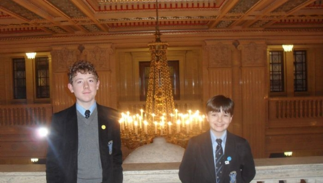 Junior Debating Club Visits Stormont